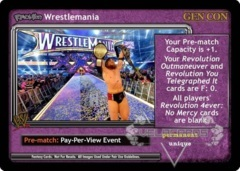 <i>Revolution</i> Wrestlemania - GenCon